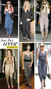 Celebrites in Jumpsuits