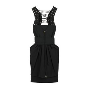 Preen Cordula lace up dress