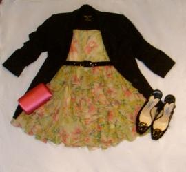 skirt turned dress