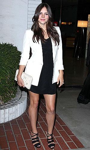 Katherine mcphee in white blazer