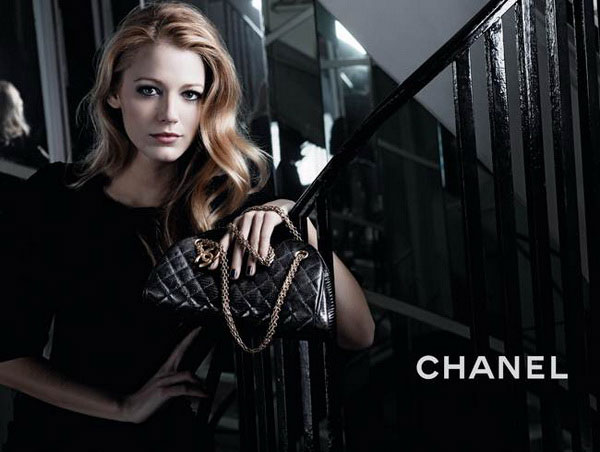 blake lively chanel mademoiselle handbags. Tags: Blake Lively, Chanel,